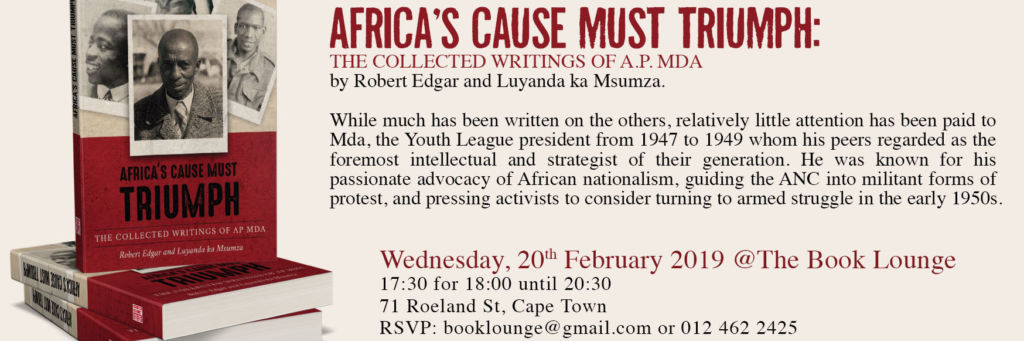 Africas Cause Must Triumph Invite 2