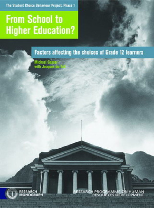 From School to Higher Education?: Factors affecting the choices of